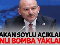 Bakan Soylu açıkladı: Canlı bomba yakalandı