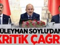 Süleyman Soylu'dan Kritik Çağrı!