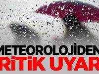 Meteorolojiden 3 il için çok kuvvetli yağış uyarısı