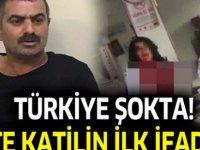Vahşet, Emine Bulut'u katleden katil Fedai Baran'ın ilk ifadesi