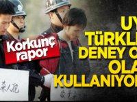 Çin, Uygur Türklerini deney objesi yaptı ve  köle gibi çalıştırıyor..