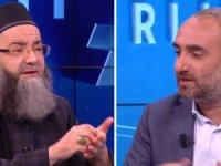 Gazeteci İsmail Saymaz ile 'Cübbeli Ahmet'  canlı yayında karşı karşıya geldi