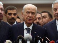MHP lideri Devlet Bahçeli Erzurum'da