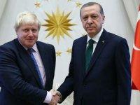Cumhurbaşkanı Erdoğan, Johnson İle Görüştü