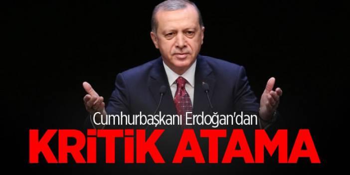 Erdoğan resmen imzaladı! Bir kritik atama daha