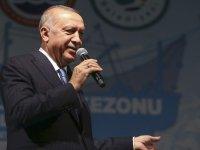 Cumhurbaşkanı Erdoğan'dan Su Ürünleri Kanunu açıklaması