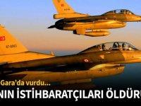 PKK İhtihbaratının Elebaşları Yok Edildi