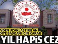 41 Belediye Başkanına  toplam 237 yıl  hapis cezası