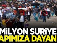 1 Milyon Suriyeli Kapımıza Dayandı!