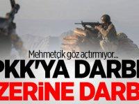 PKK'ya darbe üzerine darbe!