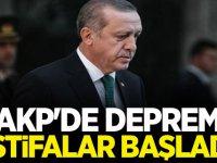 AKP'de Deprem! İstifalar Başladı