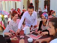 MHP'li Amasya Belediyesinden kadınlara özel çayevi