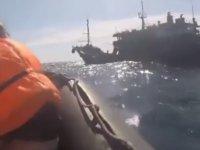 Kuzey Kore gemisi Rus askerlerine ateş açtı!