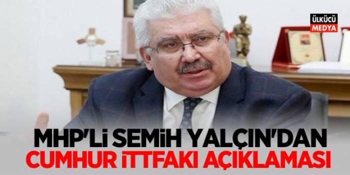 MHP'den Cumhur İttifakı açıklaması