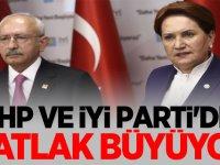 CHP ve İyi Parti'de Çatlak