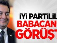 İYİ Partililer Babacan ile görüştü