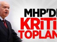MHP'de Kritik Toplantı!