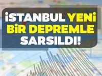 İstanbul'da Yine Deprem Oldu