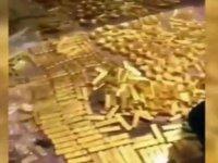 Belediye başkanının evinde servet buldu! Tam 13.5 ton altın...