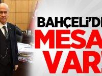 MHP Lideri Devlet Bahçeli'den Mesaj Var