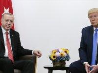 Erdoğan İle Trump 'Güvenli Bölge'yi Görüştü
