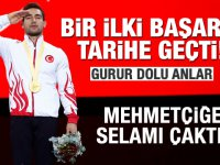 Türk sporunda bir ilk! Tarihe geçti!