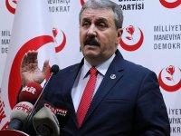 BBP Lideri Destici: PKK/YPG kahpece ve kalleşçe saldırıyor