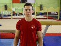 Cimnastikte Ahmet Önder'den bir de  Gümüş Madalya
