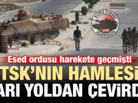Suriye Ordusu TSK'nın hamlesi sonrası yarı yoldan döndü!