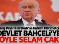 Barış Pınarı Harekatı'na katılan Mehmetçik, Devlet Bahçeli'ye böyle selam çaktı