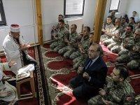 Bosna Hersek'teki Türk birliğinde Mehmetçik için dua