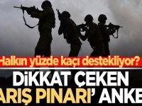 Dikkat çeken Barış Pınarı Harekatı Anketi! işte sonuçlar..