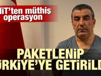 MİT'ten müthiş operasyon! Türkiye'ye getirildi