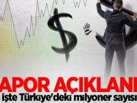 İşte Türkiye'deki milyoner sayısı