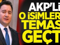 AKP'li o isimlerle temasa geçti