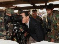 İlk kez İdlib'e gitti... Esad Türkiye sınırında!
