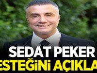 Sedat Peker Desteğini açıkladı