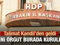 PKK yeni örgütü burada kurdu