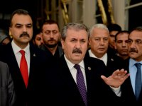 BBP Lideri Destici'den Batı'ya 'Tel Abyad' tepkisi