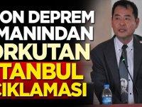 Japon deprem uzmanından korkutan İstanbul açıklaması!