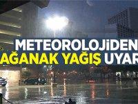 Meteoroloji'den 11 kente sağanak uyarısı