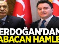 Erdoğan'dan Ali Babacan hamlesi