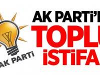 AK Parti'de toplu istifa! O isimler istifa etti