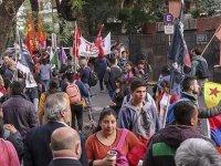Ermeniler ve PKK yandaşları Türkiye karşıtlığında birleşti!