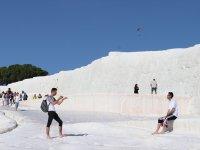 Pamukkale'yi 10 ayda 2,3 milyon kişi ziyaret etti