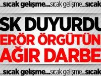 Hava destekli harekatta PKK'ya ağır darbe