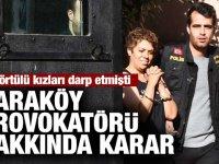 Karaköy'de başörtülü kadına saldırgan tutuklandı