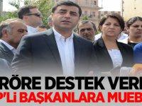 Teröre destek veren HDP'li başkanlara müebbet istemi