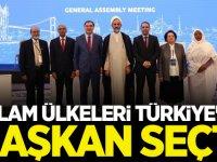 İslam İşbirliği Teşkilatı Ombudsmanlar Birliği Başkanlığı Türkiye'de