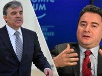 Ali Babacan'dan flaş açıklama! Abdullah Gül'ün yeni parti kararını açıkladı
